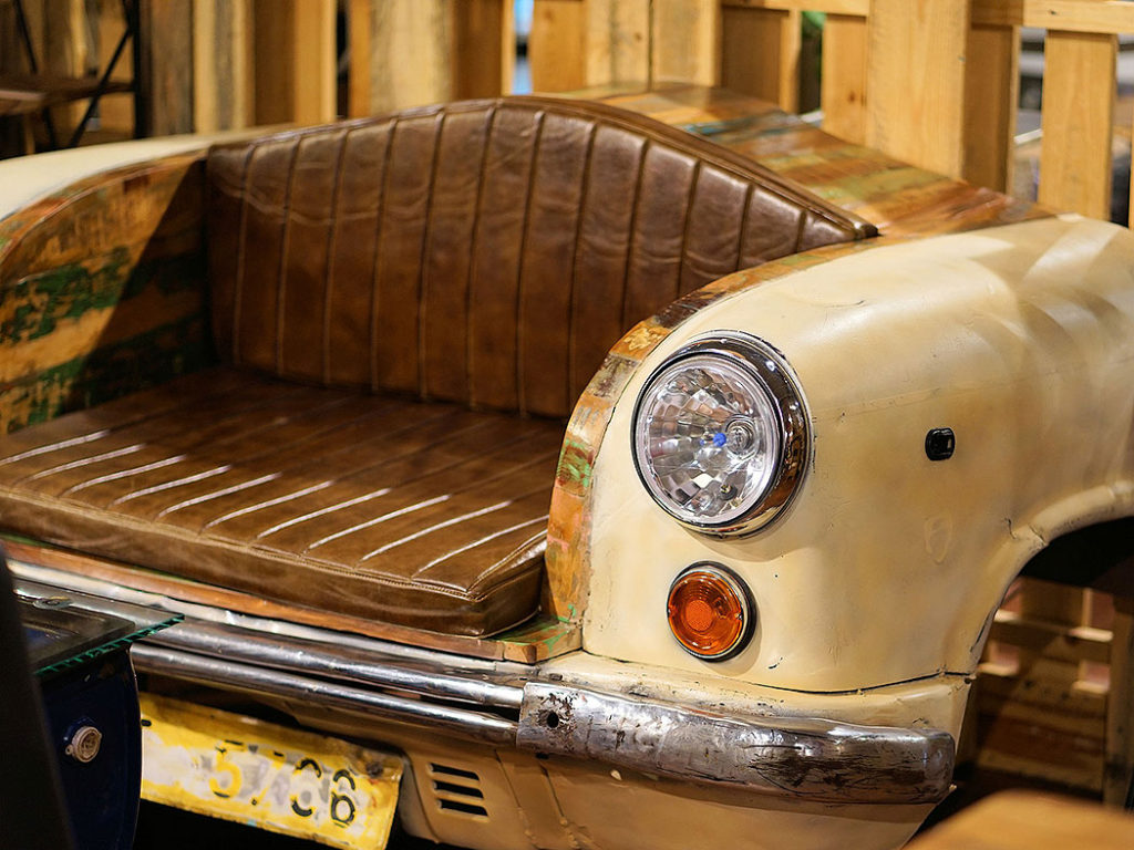 Unique Recycled Car Sofa
