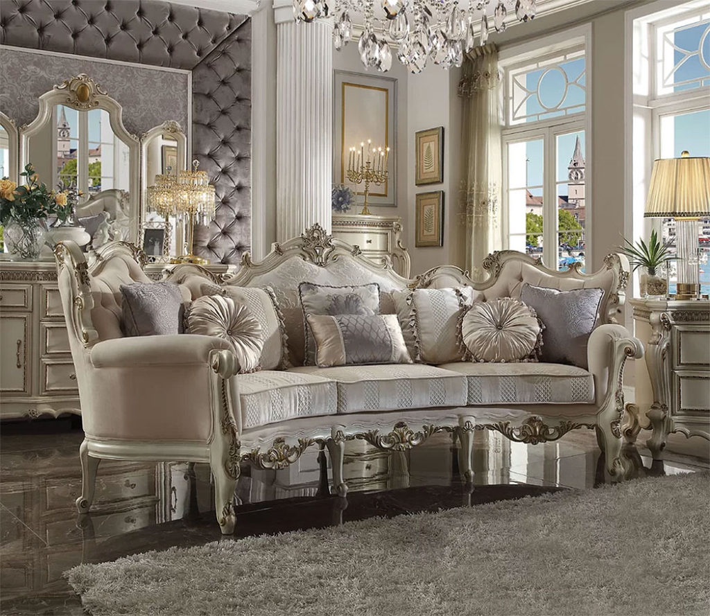 The Opulent Berlinville Sofa