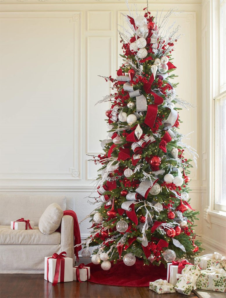 Brad Schmidt's Red White and Sparkle Tree