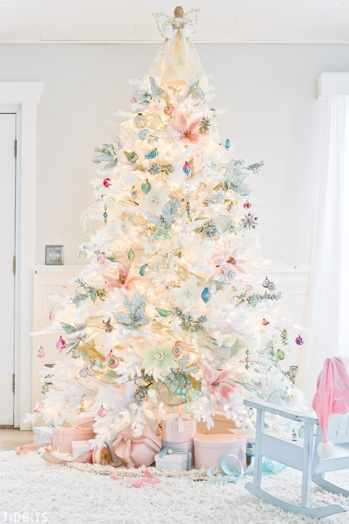 Beautiful Pastel Christmas Tree