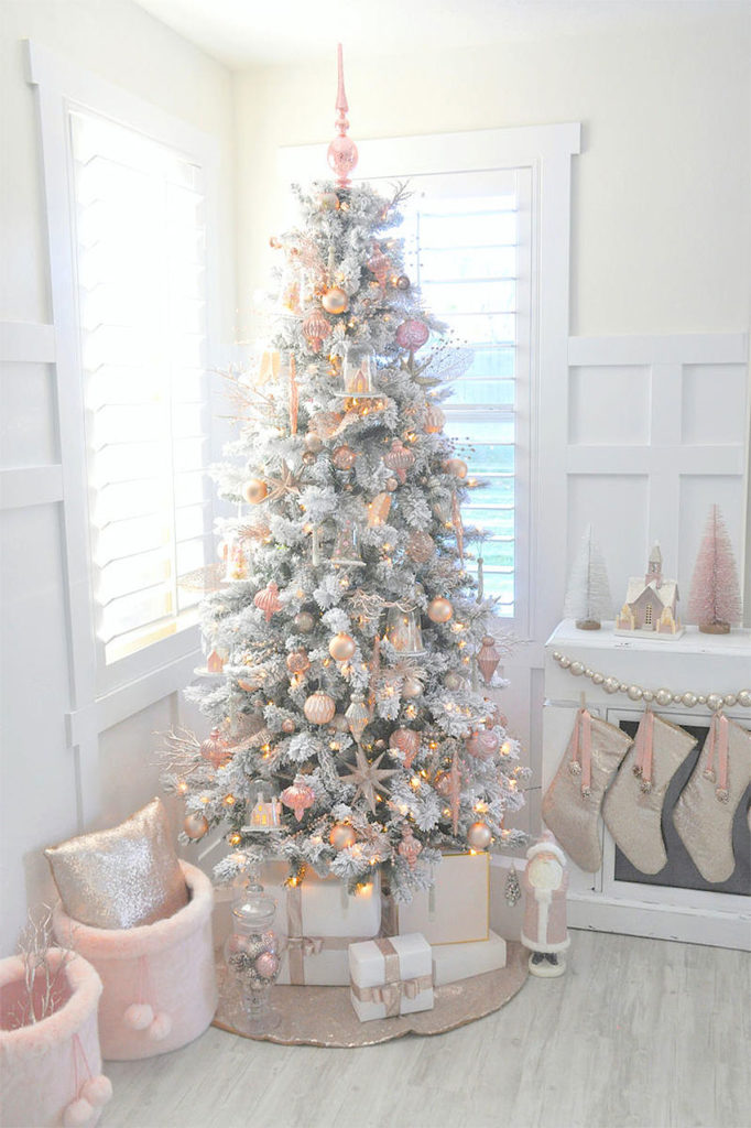 Blush Pink Christmas Tree