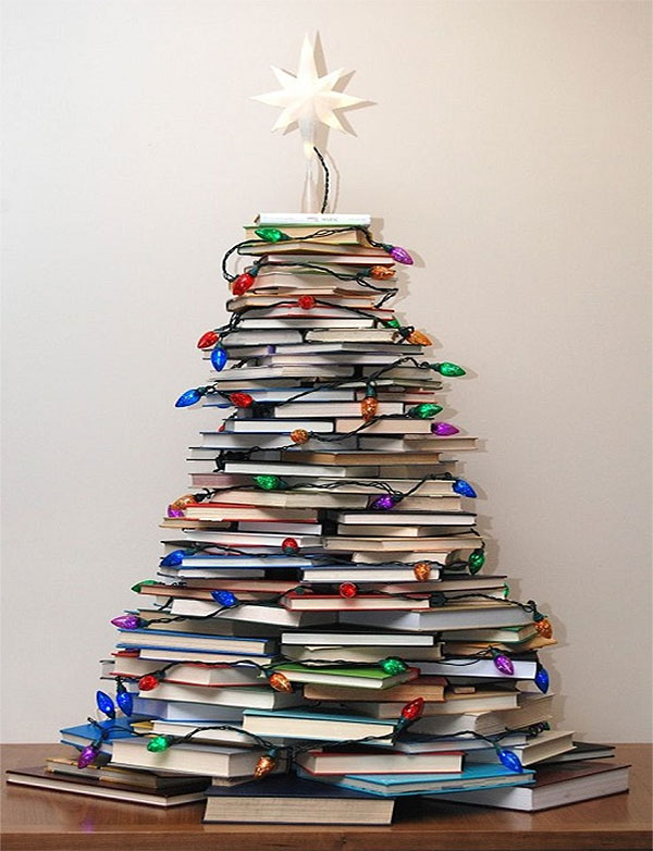 Book Lovers DIY Christmas Tree