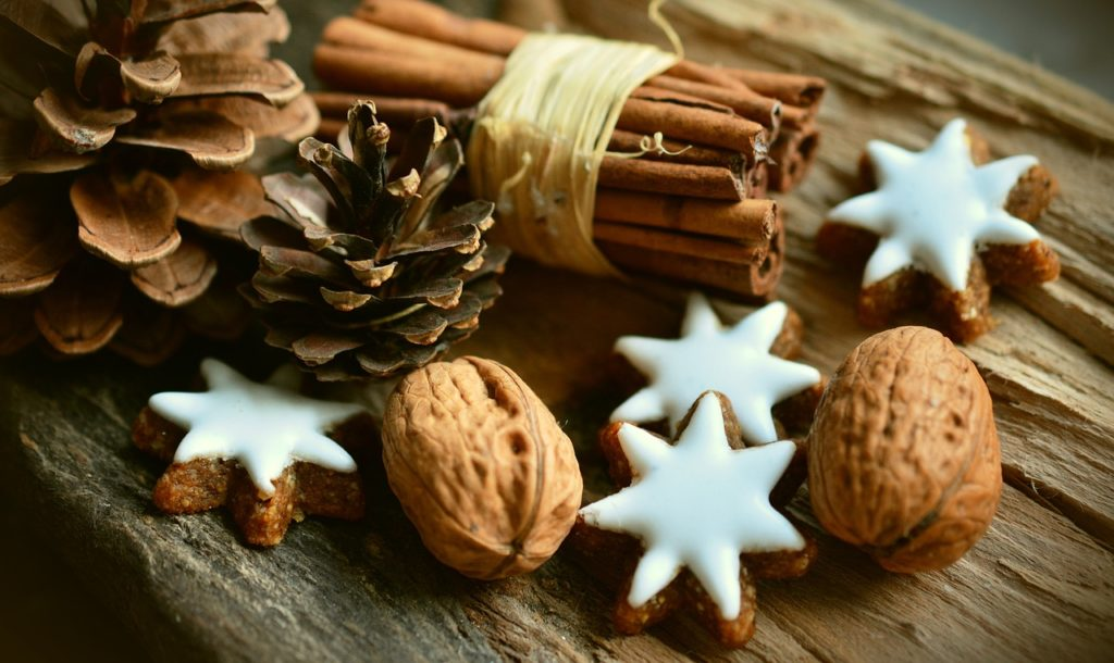 Christmas Decor Cinnamon Stars