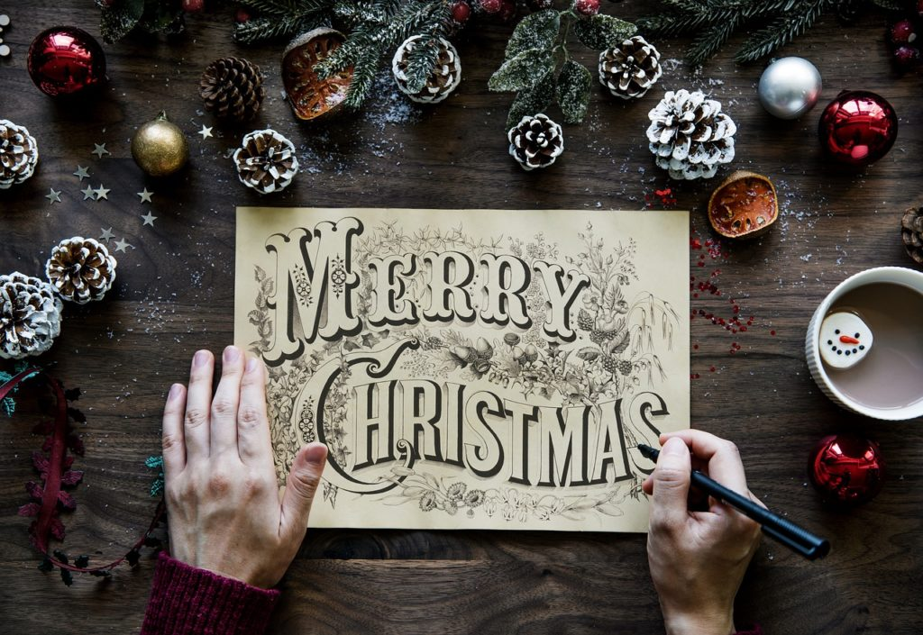 Christmas Decor Merry Christmas Sign
