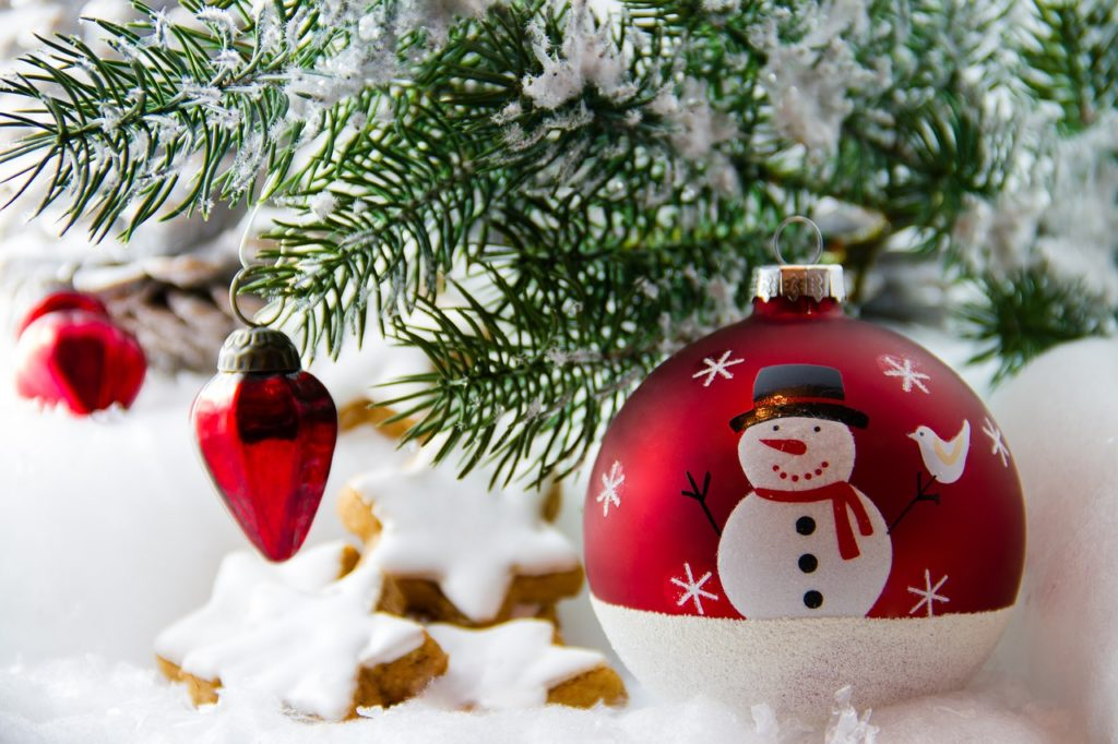 Christmas Decor Snowman Ornament