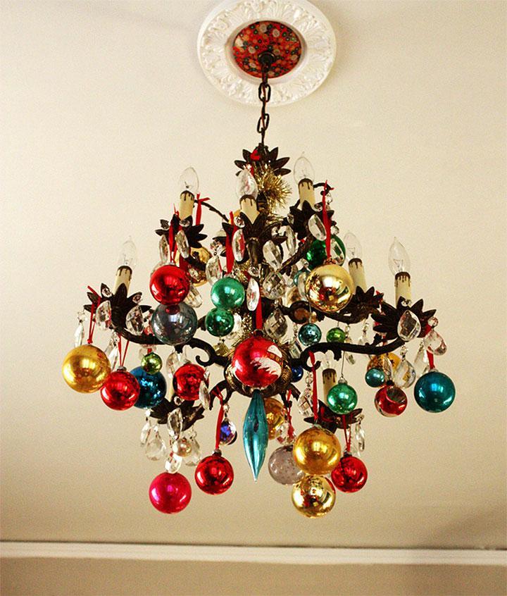 Ornamental Christmas Chandelier