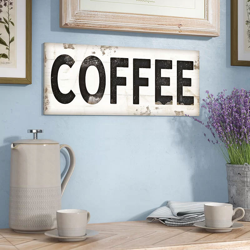 Coffee Decor Plaque