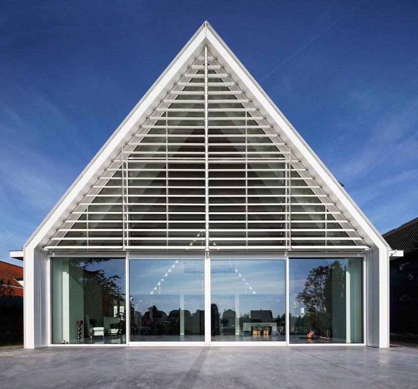 Converted Church House in Rotterdam