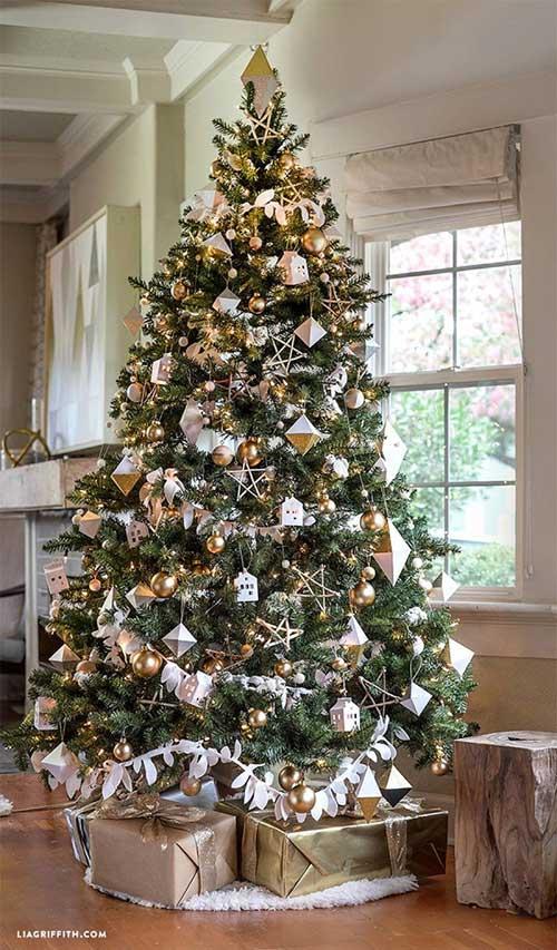 Geometry Lover Christmas Tree