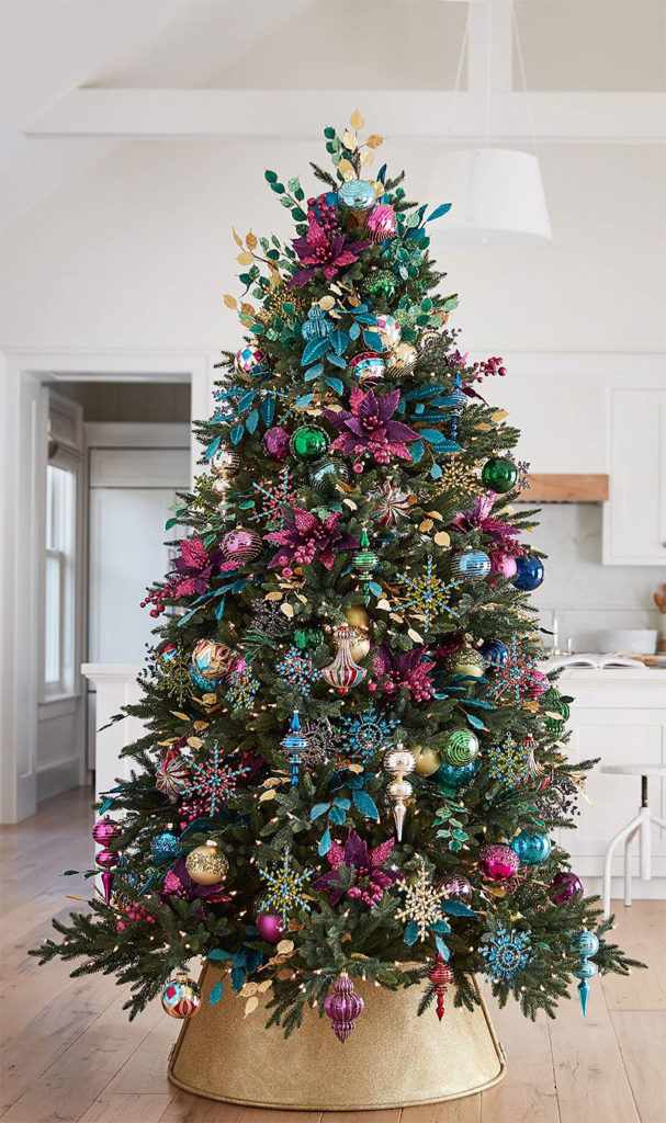 Beautiful Christmas Trees | Holiday Masquerade Christmas Tree