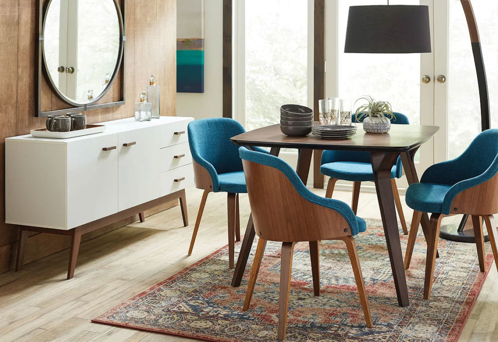 Mid-Century Modern Dining Room Design