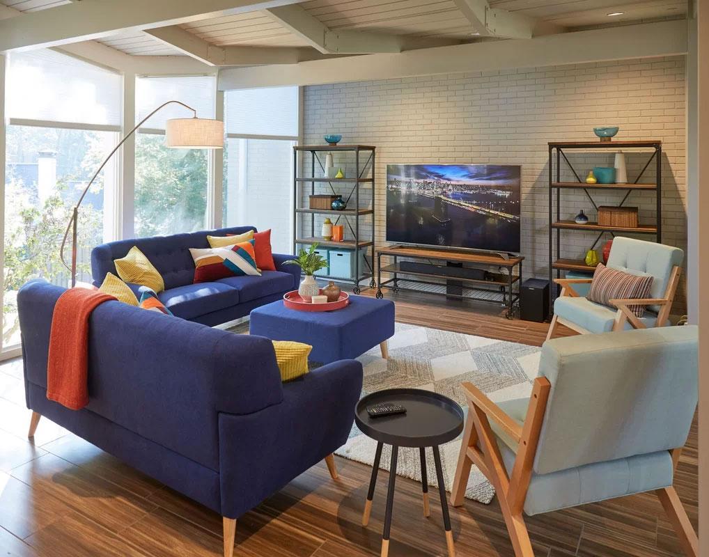 Mid-Century Modern Living Room Design