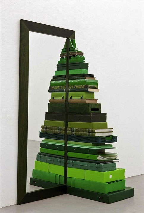 Mirror Stacked Christmas Tree