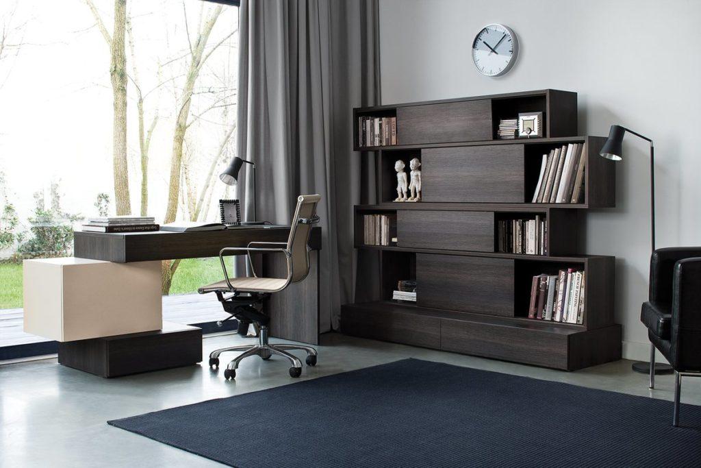 Modern Modular Home Office Design