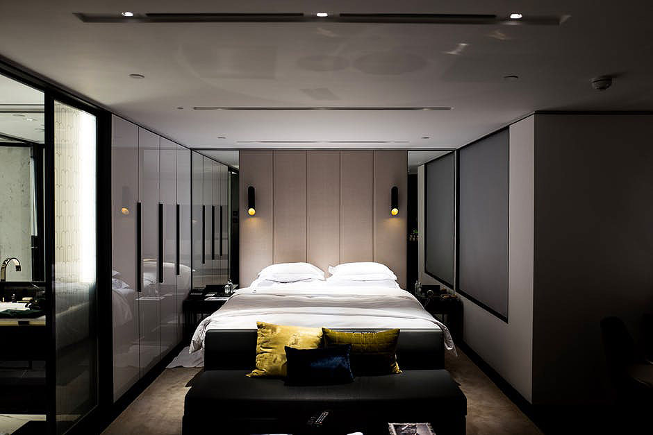 Modern Paneled Bedroom Design