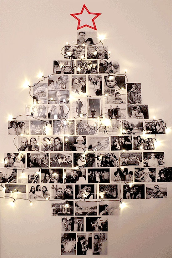 Photo Collage Christmas Tree