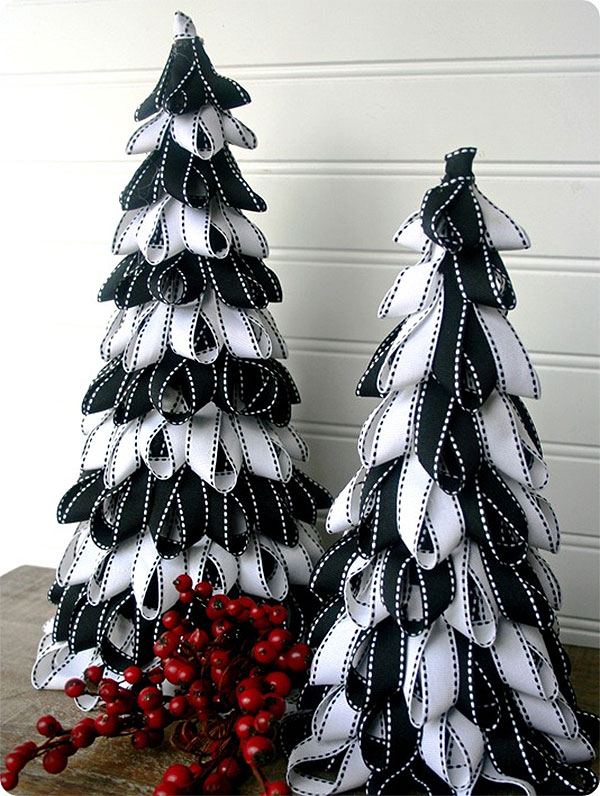 Ribbon DIY Christmas Tree
