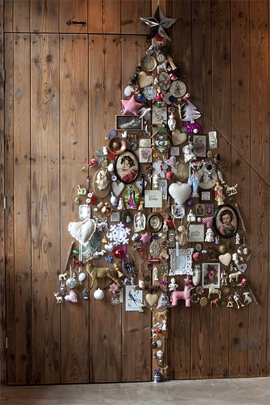 Scrapbook Christmas Tree