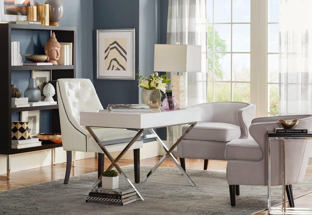 Sleek Modern Home Office Design