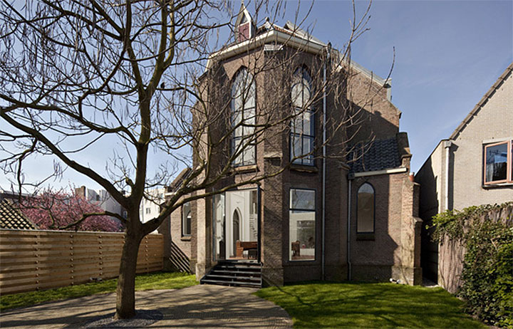 St. Jakobus Converted Church in Utrecht