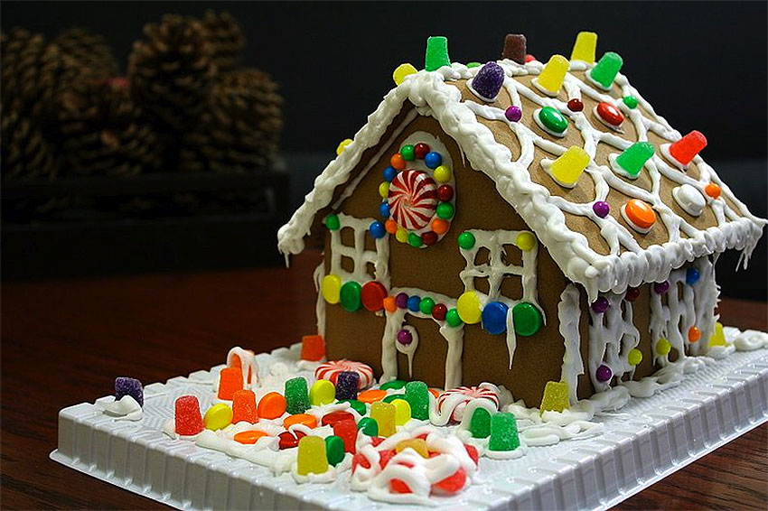 Typical Gingerbread House