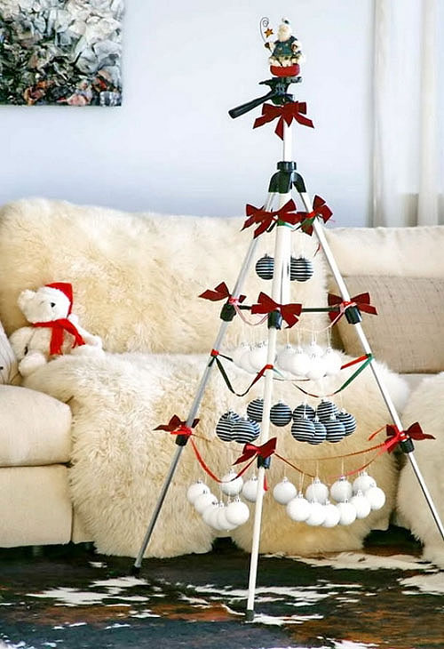 Tripod Christmas Tree
