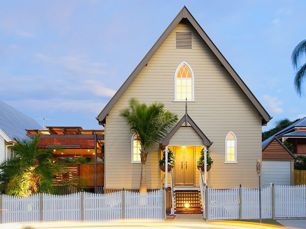 Circa 1867 Converted Church House in Brisbane, Australia