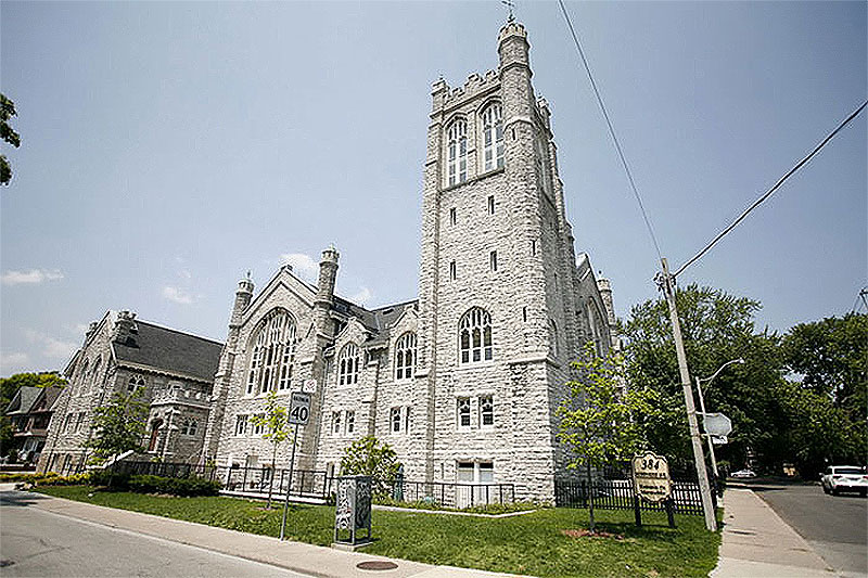 Condo Conversion of Howard Park Methodist Church in Toronto