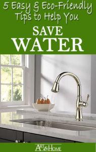 Eco Friendly Water Saving Tips
