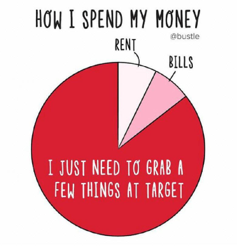 Personal & Home Finance Meme    How I Spend My Money Pie Chart