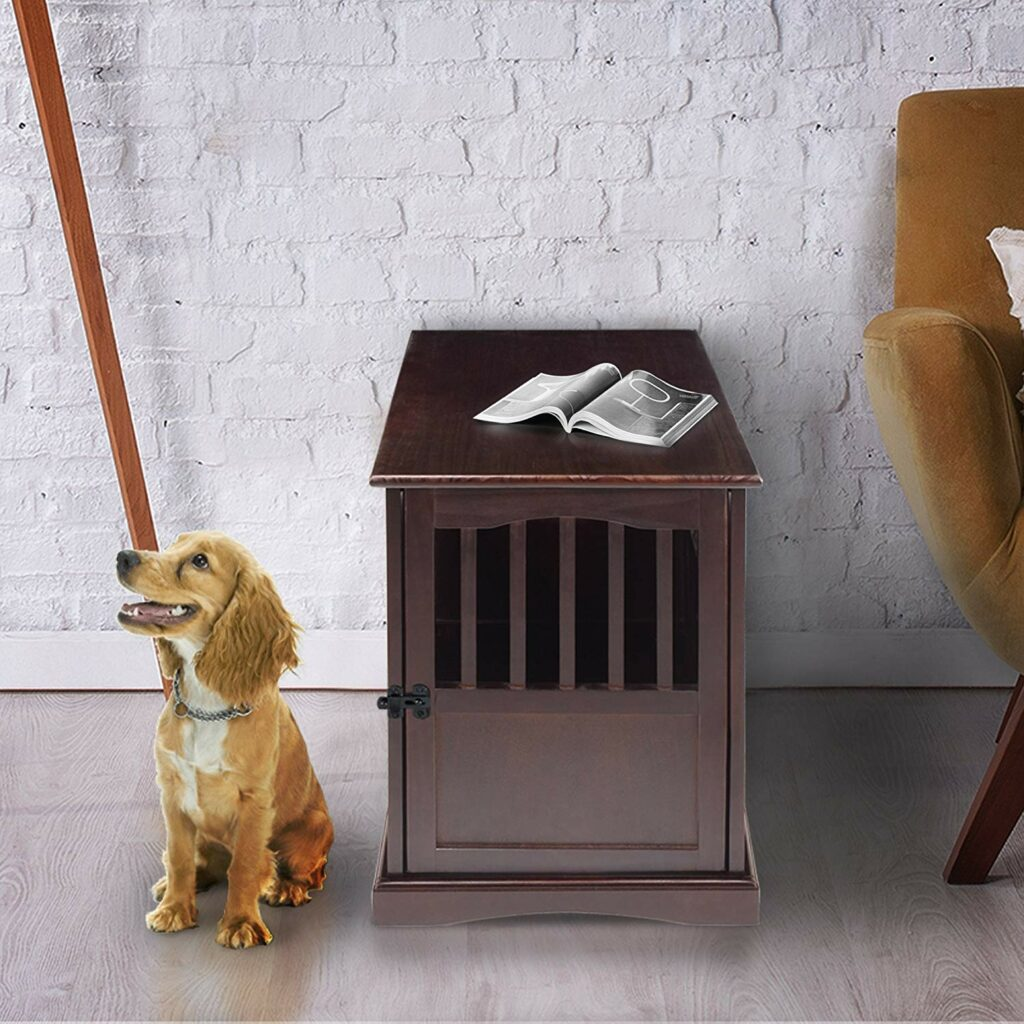 Casual Home Decorative Wooden Pet Crate