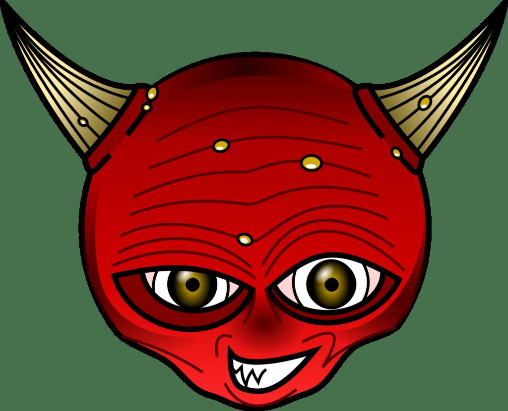 Devil Halloween Emoji | Halloween Clip Art