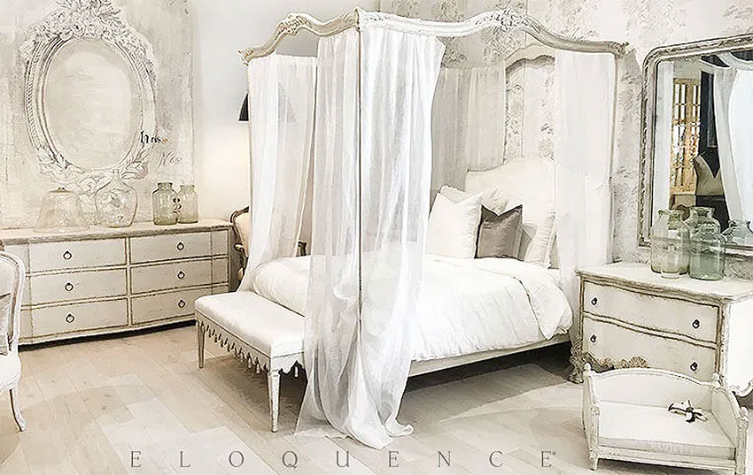 Eloquence Shabby Chic French Country Bedroom