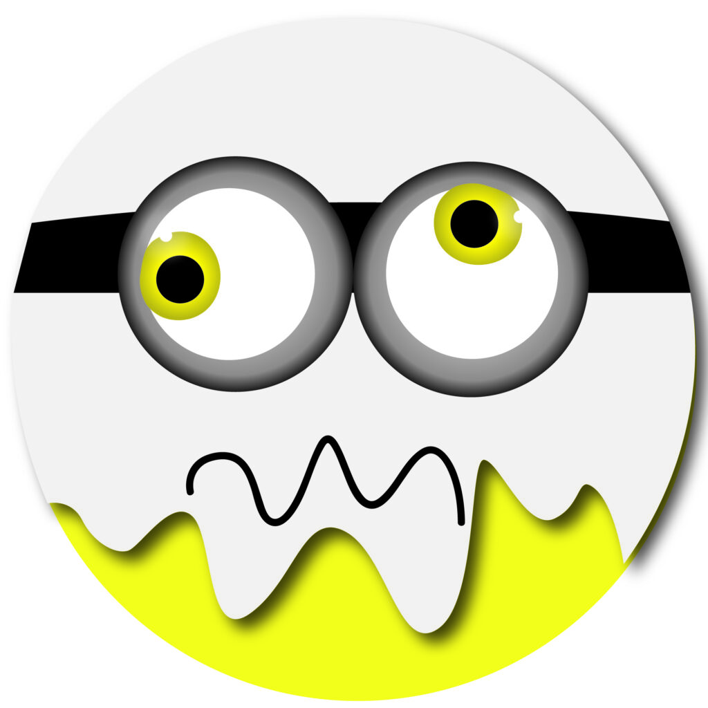 Halloween Minion Ghost Emoji | Halloween Clip Art