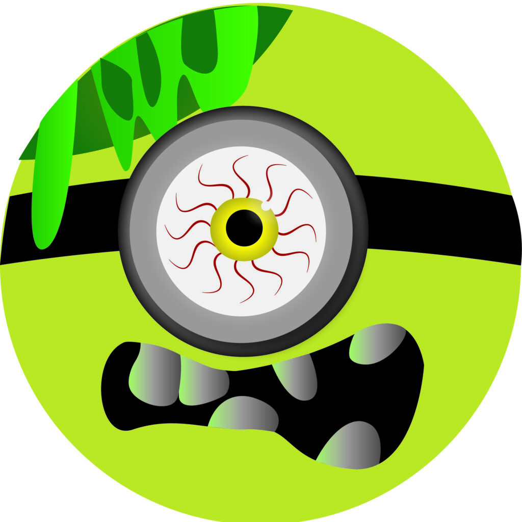 Halloween Minion Green Emoji | Halloween Clip Art