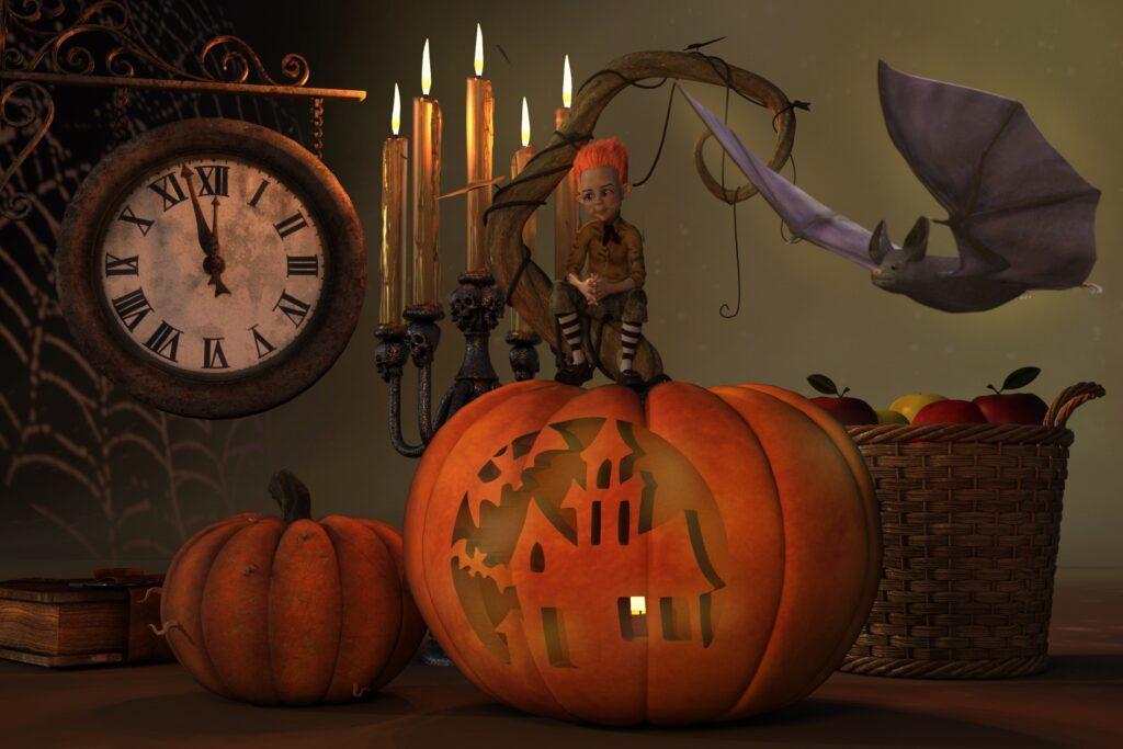 Halloween Pumpkin | Halloween Art You Can Print
