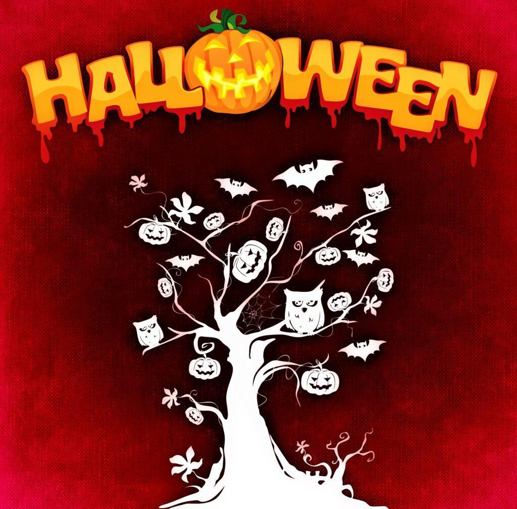 Halloween Tree Sign Halloween Printable