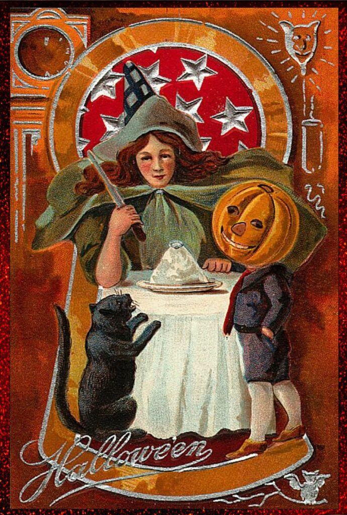 Vintage Witch Printable Halloween Poster