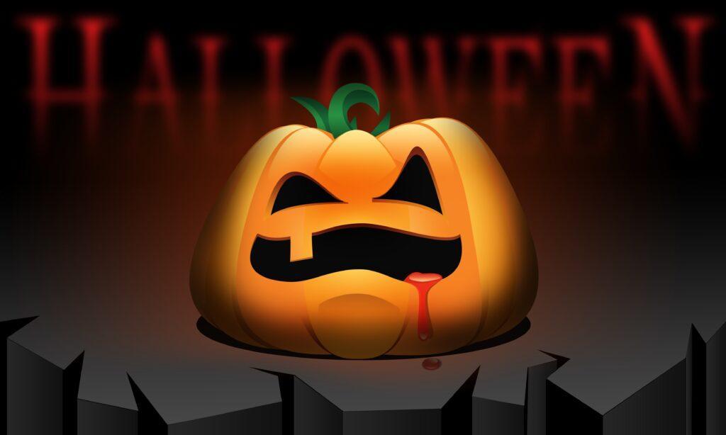 Hungry Pumpkin Halloween Printable
