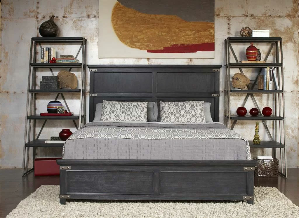 Masculine Decor & Furniture in the Bedroom