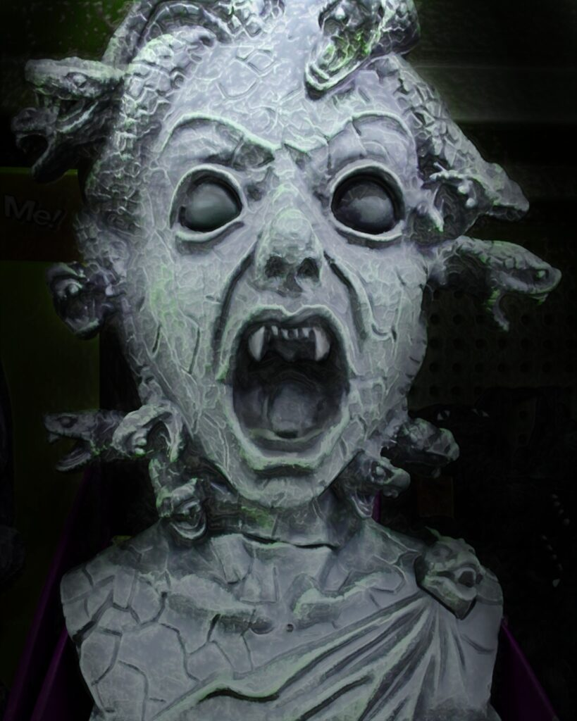 Medusa Head | Halloween Pictures You Can Print