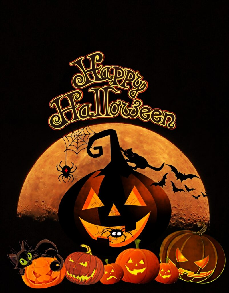 Printable Happy Halloween Sign