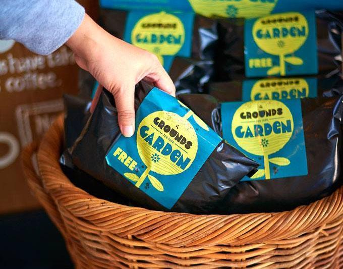 Starbucks Grounds for your Garden Program