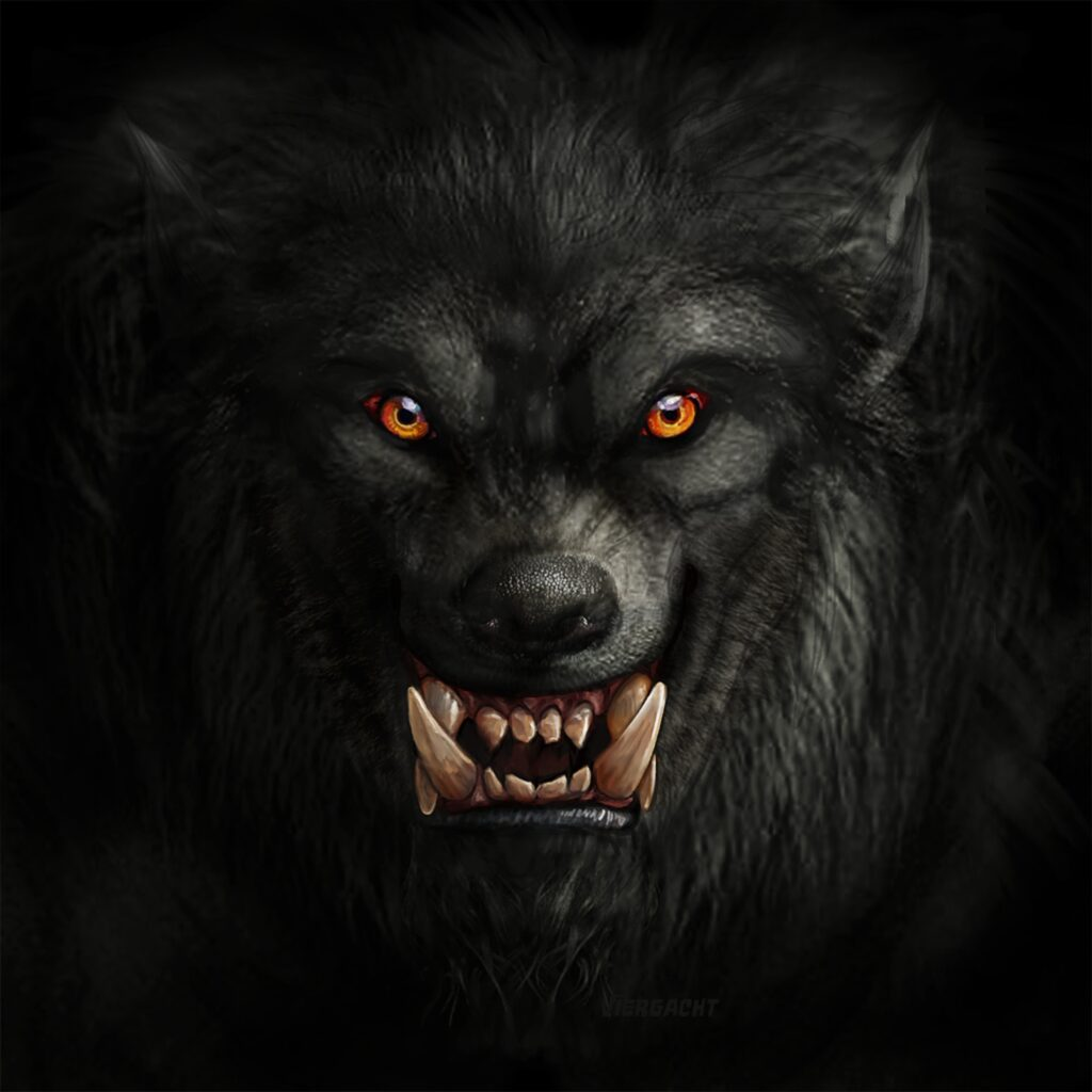 Werewolf | Free Halloween Pictures You Can Print