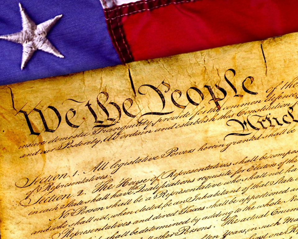 4th of July Constitution Printable