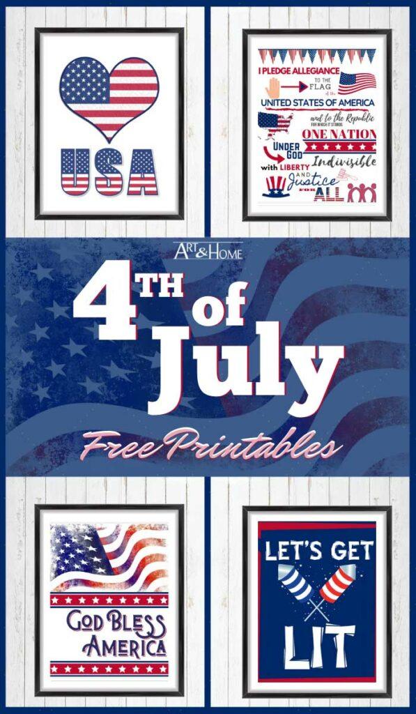 Fun & Free 4th of July Printables