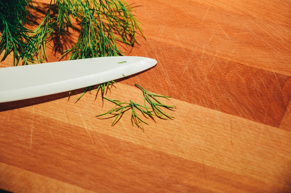 Fresh Chopped Dill in the Lemon Dill Horseradish Sauce Recipe