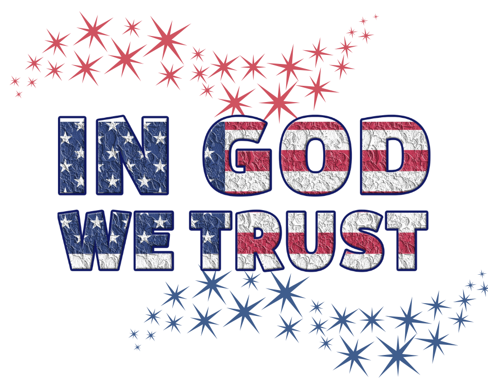 USA In God We Trust Printable