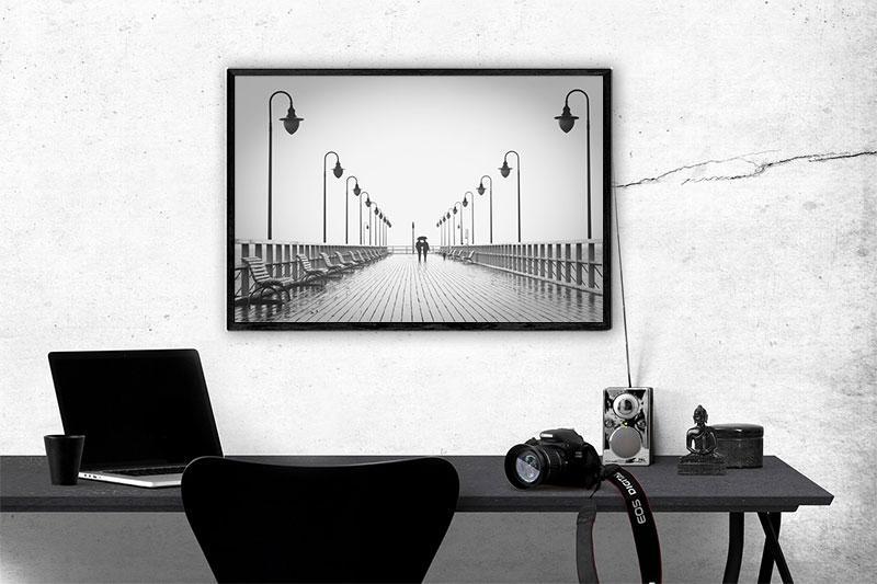 Framed Printable Couple Art Print