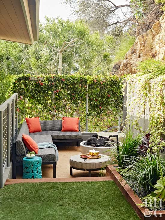 Add an Outdoor Garden and Incorporate the Patio